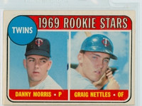 1969 OPC Baseball 99 Twins Rookies Excellent to Excellent Plus