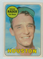 1969 OPC Baseball 119 Doug Rader Houston Astros Excellent to Excellent Plus
