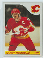 1985-86 Topps Hockey Lanny McDonald Calgary Flames Near-Mint to Mint