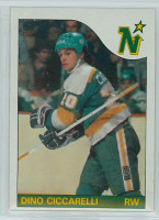 1985-86 Topps Hockey Dino Ciccarelli Minnesota North Stars Near-Mint
