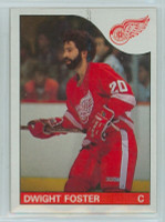 1985-86 Topps Hockey Dwight Foster Detroit Red Wings Near-Mint to Mint