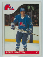 1985-86 Topps Hockey Peter Stasny Quebec Nordiques Near-Mint to Mint