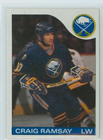 1985-86 Topps Hockey Craig Ramsay Buffalo Sabres Near-Mint to Mint