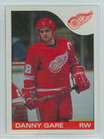 1985-86 Topps Hockey Danny Gare Detroit Red Wings Near-Mint to Mint