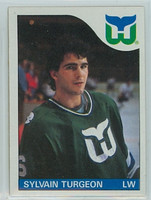 1985-86 Topps Hockey Sylvain Turgeon Hartford Whalers Near-Mint to Mint