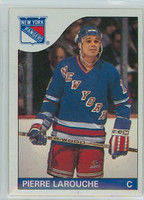 1985-86 Topps Hockey Pierre LaRouche New York Rangers Near-Mint to Mint