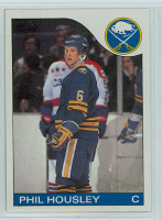 1985-86 Topps Hockey Phil Housley Buffalo Sabres Near-Mint to Mint