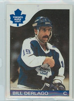1985-86 Topps Hockey Bill Derlago Toronto Maple Leafs Near-Mint to Mint