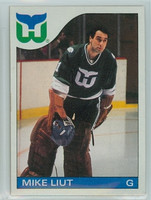 1985-86 Topps Hockey Mike Liut Hartford Whalers Near-Mint to Mint