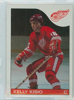 1985-86 Topps Hockey Kelly Kisio Detroit Red Wings Near-Mint to Mint