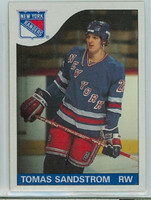 1985-86 Topps Hockey Tomas Sandstrom New York Rangers Near-Mint to Mint