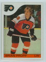 1985-86 Topps Hockey Brian Propp Philadelphia Flyers Near-Mint to Mint