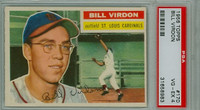 1956 Topps Baseball 170 Bill Virdon St. Louis Cardinals PSA 4 Very Good to Excellent Grey Back