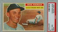 1956 Topps Baseball 267 Bob Nieman Chicago White Sox PSA 8 Near Mint to Mint