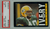 1985 Topps Football 71 Eddie Lee Ivery Green Bay Packers PSA 9 Mint