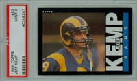1985 Topps Football 83 Jeff Kemp Los Angeles Rams PSA 9 Mint