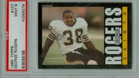 1985 Topps Football 107 George Rogers New Orleans Saints PSA 9 Mint