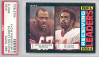 1985 Topps Football 193 NFL Receiving Leaders PSA 9 Mint