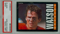 1985 Topps Football 245 Steve Watson Denver Broncos PSA 9 Mint