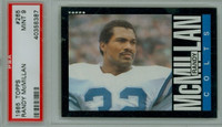 1985 Topps Football 265 Randy McMillan Baltimore Colts PSA 9 Mint