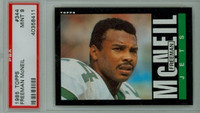 1985 Topps Football 344 Freeman McNeil New York Jets PSA 9 Mint