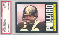 1985 Topps Football 361 Frank Pollard Pittsburgh Steelers PSA 9 Mint
