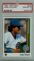 1989 Upper Deck Argenis Salazar Chicago Cubs PSA 10 Gem Mint