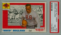 1955 Topps AA Football 39 Jerome Holland Cornall Big Red PSA 8 OC