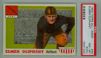 1955 Topps AA Football 45 Elmer Oliphant Army Black Knights PSA 8 OC