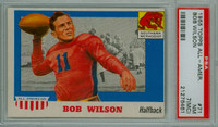 1955 Topps AA Football 71 Bob Wilson  SMU PSA 7 MC