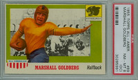 1955 Topps AA Football 89 Marshall Goldberg  Pittsburgh PSA 8 OC