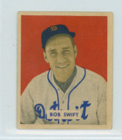 1949 Bowman 148 Bob Swift High Number Very Good