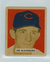 1949 Bowman 160 Jim Blackburn High Number Good to Very Good