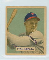 1949 Bowman 177 Stan Lopata High Number Excellent to Excellent Plus