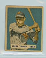 1949 Bowman 186 John Kerr High Number Good to Very Good