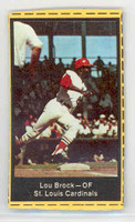 1969 Nabisco Flakes 3 Lou Brock St. Louis Cardinals Excellent
