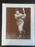 Baseball Magazine Player Posters 1947 Ken Keltner Cleveland Indians Good to Very Good