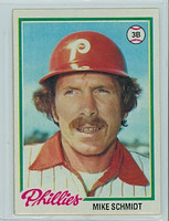 1978 Topps Baseball 360 Mike Schmidt Philadelphia Phillies Near-Mint