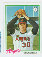 1978 Topps Baseball 400 Nolan Ryan California Angels Very Good to Excellent