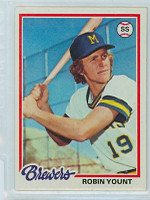 1978 Topps Baseball 173 Robin Yount Milwaukee Brewers Near-Mint to Mint