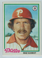 1978 Topps Baseball 360 Mike Schmidt Philadelphia Phillies Near-Mint to Mint