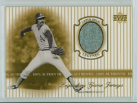 2000 Upper Deck Legendary Jerseys Insert 1:48 Rollie Fingers Oakland Athletics Near-Mint to Mint