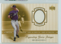 2000 Upper Deck Legendary Jerseys Insert 1:48 Randy Johnson Arizona Dbacks Near-Mint to Mint