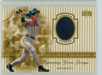 2000 Upper Deck Legendary Jerseys Insert 1:48 Chipper Jones Atlanta Braves Near-Mint to Mint
