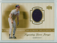 2000 Upper Deck Legendary Jerseys Insert 1:48 Dale Murphy Atlanta Braves Near-Mint to Mint