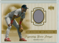 2000 Upper Deck Legendary Jerseys Insert 1:48 Ozzie Smith St. Louis Cardinals Near-Mint to Mint