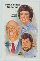 Perez-Steele HOF Frank-Peggy Steele / Dick Perez