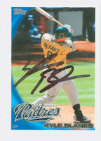 Kyle Blanks AUTOGRAPH 2010 Topps Padres 