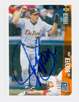 Joe Boever AUTOGRAPH 1996 Upper Deck Tigers 