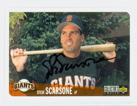 Steve Scarsone AUTOGRAPH 1996 Upper Deck Giants 